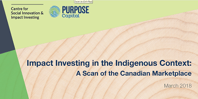 Impact Investing in the Indigenous Context
